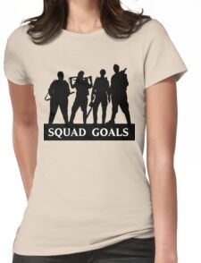 Ghostbusters 2016 Squad Goals Womens Fitted T-Shirt
