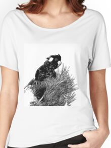 ~ Yellow-tailed black cockatoo ~ Women's Relaxed Fit T-Shirt