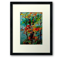 Blue Night... Framed Print