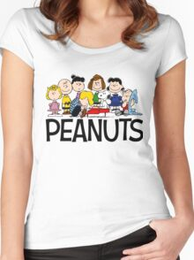 The Complete Peanuts Women's Fitted Scoop T-Shirt