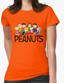 The Complete Peanuts Womens Fitted T-Shirt