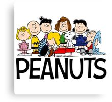 The Complete Peanuts Canvas Print
