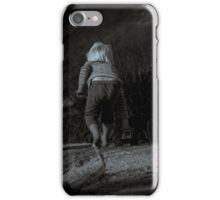 A Little Boy and his Truck iPhone Case/Skin