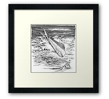 Now who is Top Gun? Framed Print