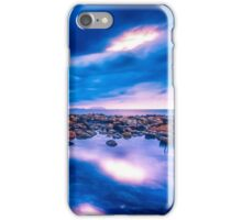 Dawn approaches at the rock pool iPhone Case/Skin