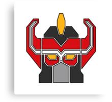 Transformers meets Megazord!  Canvas Print