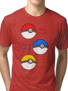 Team Valor - Team Mystic - Team Instinct Tri-blend T-Shirt