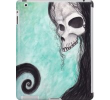 creepy skull iPad Case/Skin