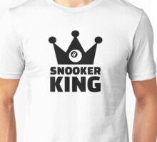 Snooker king crown Unisex T-Shirt