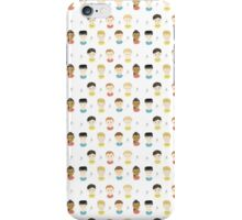 Star Trek Head Pattern iPhone Case/Skin