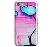 Cloudy Trees iPhone Case/Skin