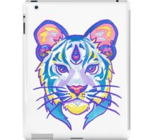 Clairvoyant Pastel Tiger iPad Case/Skin