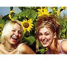 Fun in the Sun Photographic Print