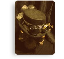 Steampunk Ladies Hat 1.0 Canvas Print