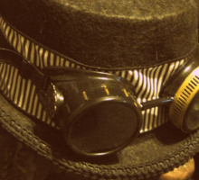 Steampunk Ladies Hat 1.0 Sticker
