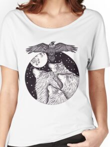 Catch The Moon Women's Relaxed Fit T-Shirt