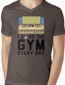 I Go To the gym everyday - Pokemon Go Mens V-Neck T-Shirt