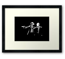 Daft Fiction Framed Print