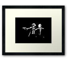 Daft Fiction Framed Print