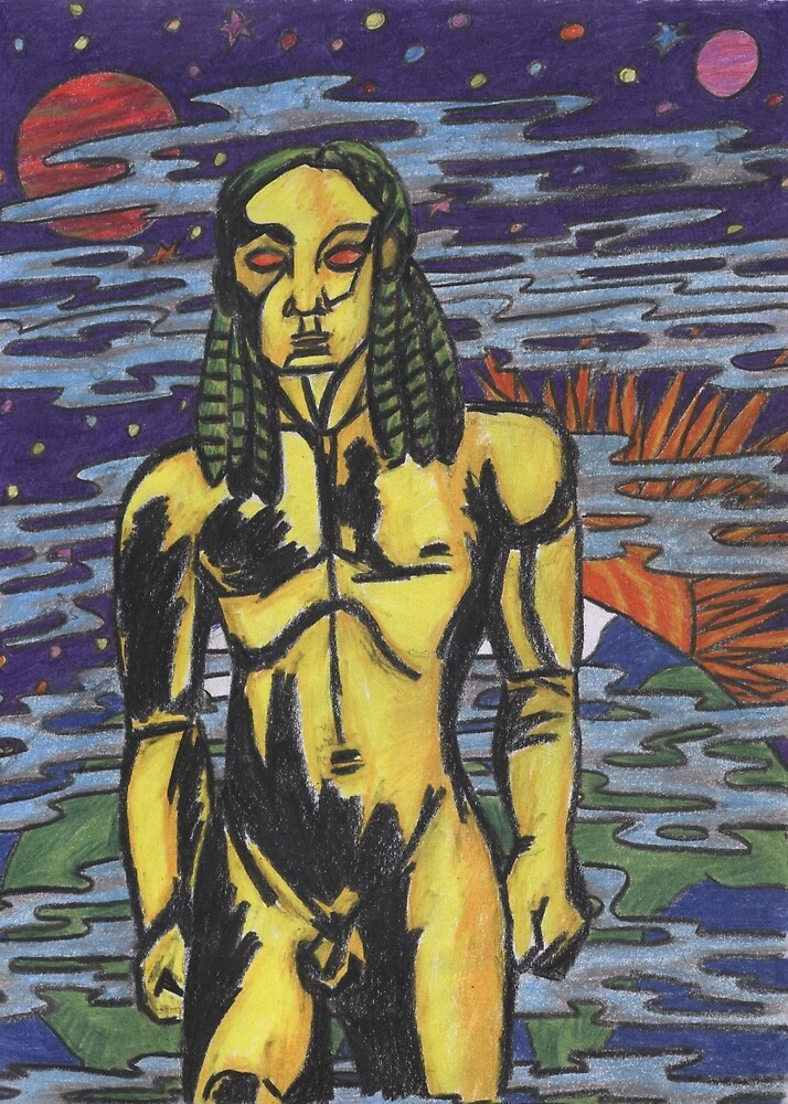 Kouros Rising by Kyleacharisse