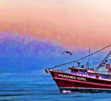 The Panama Girl Sticker