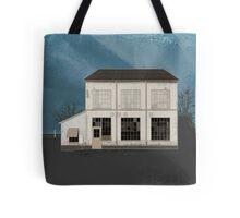 Manhattan Building Illustration Tote Bag
