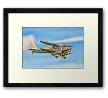 DH89A Dragon Rapide 6 G-AGSH Framed Print
