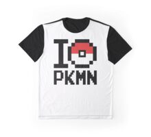 I Love PKMN Graphic T-Shirt