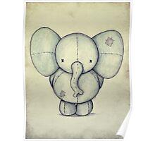 Cute Elephant Poster