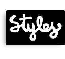 Harry Styles - Styles White Canvas Print