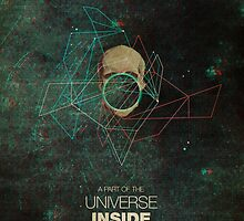 A Part Of The Universe Inside My Head by Frank  Moth