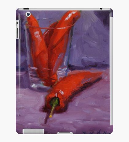 hot stuff iPad Case/Skin