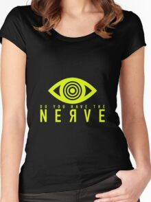 nerve logo Women's Fitted Scoop T-Shirt