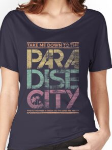 Paradise City Women's Relaxed Fit T-Shirt