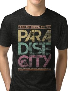 Paradise City Tri-blend T-Shirt