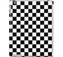 Checks, checkered, check it out! iPad Case/Skin