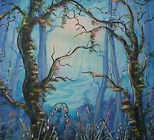 Into The Blue by Krystyna Spink