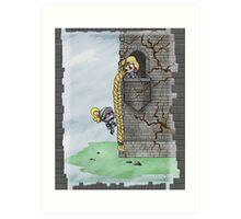 My Knight in Shining Armor Art Print