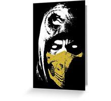 Scorpion X Greeting Card