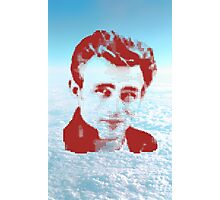 JAMES DEAN ON SKY Photographic Print