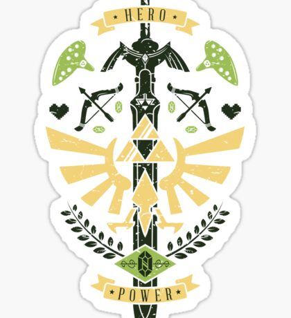Zelda Crest Sticker