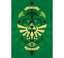 Zelda Crest Photographic Print