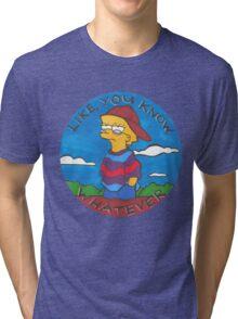 Colourful Cartoon Tri-blend T-Shirt