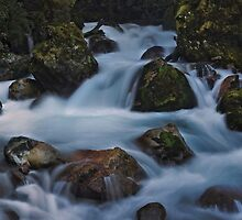 Fiordland Cascades New Zealand by STEPHEN GEORGIOU PHOTOGRAPHY