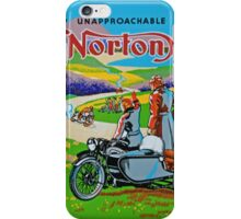 The Unapproachable Norton iPhone Case/Skin