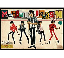 King of Pop Photographic Print