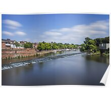 River Dee Chester Poster