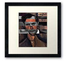 "Modigliani ""Portrait of a Poet"" & Marcello Mastroianni Framed Print"