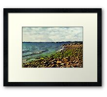 Sunrise Sea Framed Print