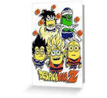 DespicaBall Z Greeting Card